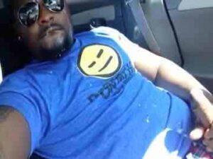 Black Webcam Dude Self Facial In Car