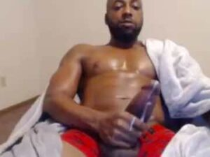 Big Black Cock Cum On Cam