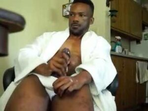 Hot Black Daddy Strong Orgasm
